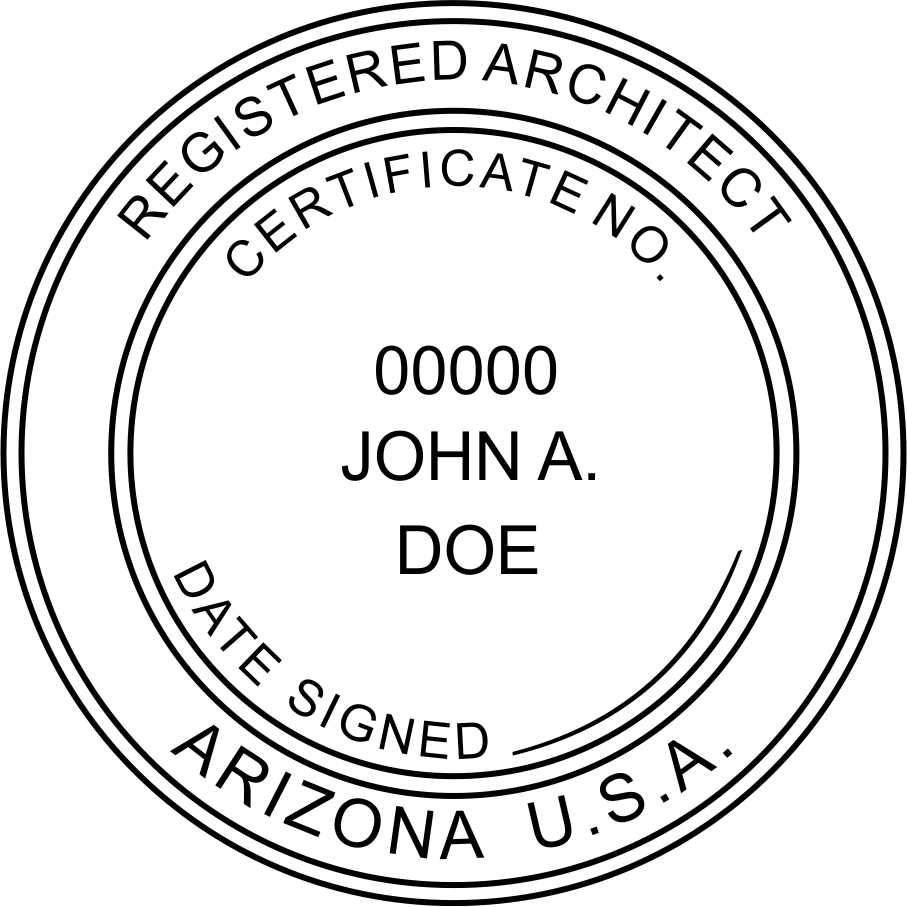 Arizona Architect - Prostamps