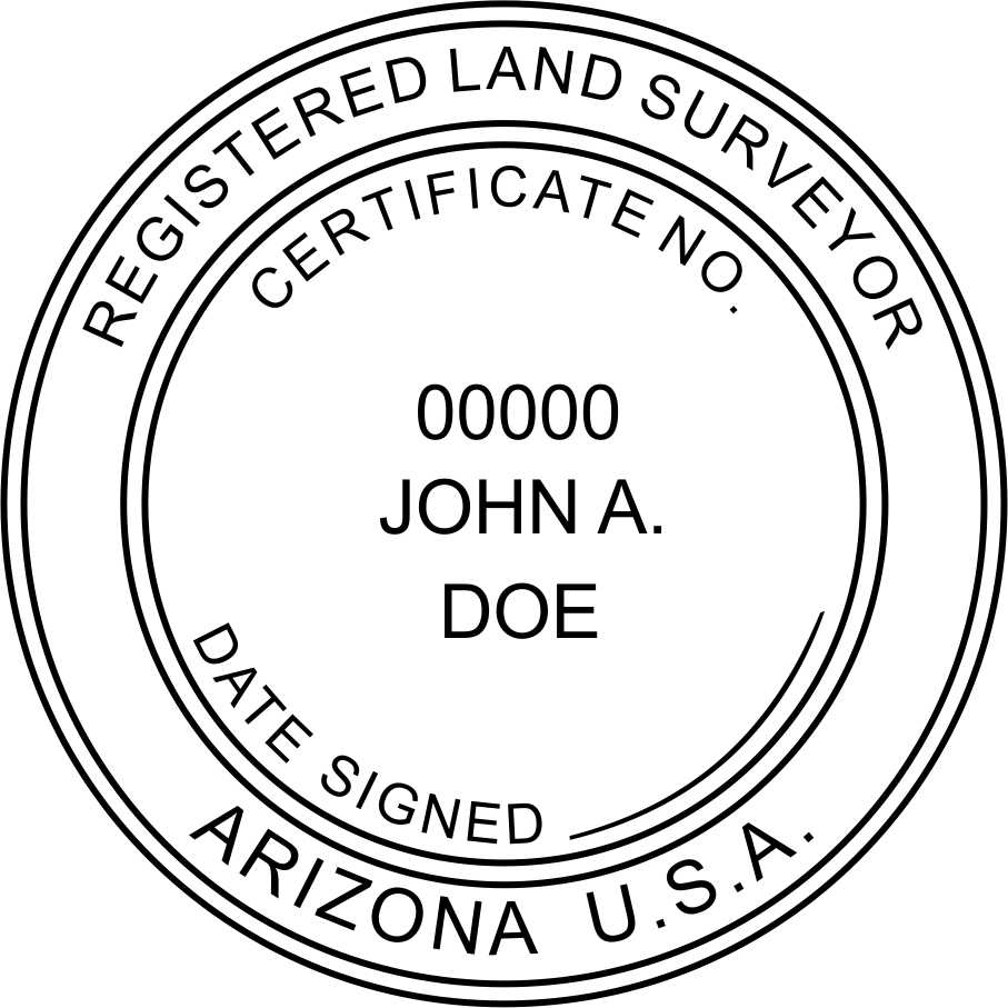 Arizona Land Surveyor - Prostamps