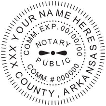 Arkansas Notary Stamp and Seal