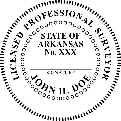 Arkansas Land Surveyor - Prostamps