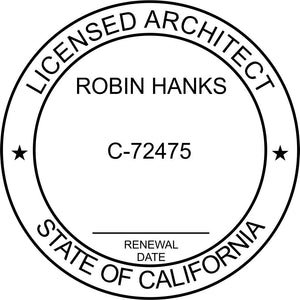 California Architect - Prostamps