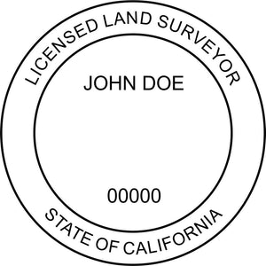 California Land Surveyor - Prostamps