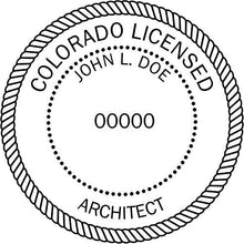 Colorado Architect - Prostamps
