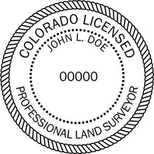 Colorado Land Surveyor - Prostamps