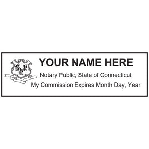 Connecticut Notary Stamp and Seal