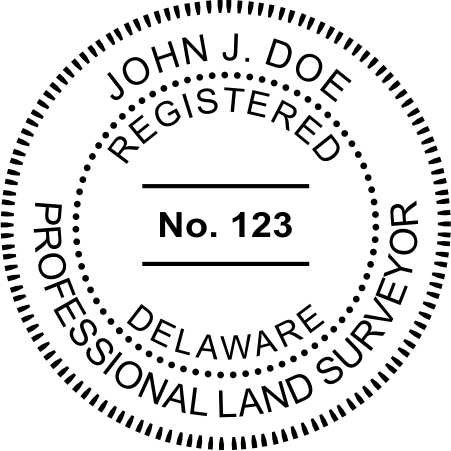 Delaware Land Surveyor - Prostamps