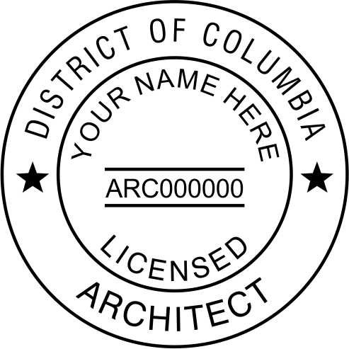 District of Columbia Architect - Prostamps