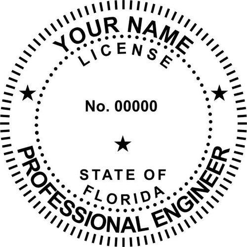 Florida Engineer Stamp and Seal - Prostamps