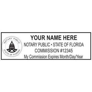 Florida Notary Stamp and Seal - Prostamps