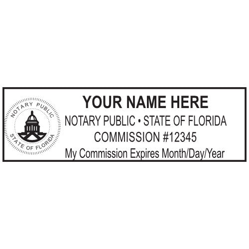 Florida Notary Stamp and Seal