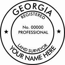 Georgia Land Surveyor - Prostamps