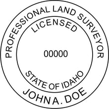 Idaho Land Surveyor - Prostamps