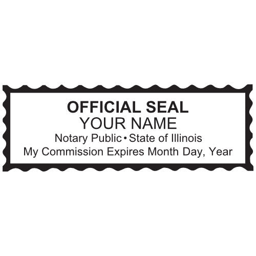Illinois Notary Stamp and Seal
