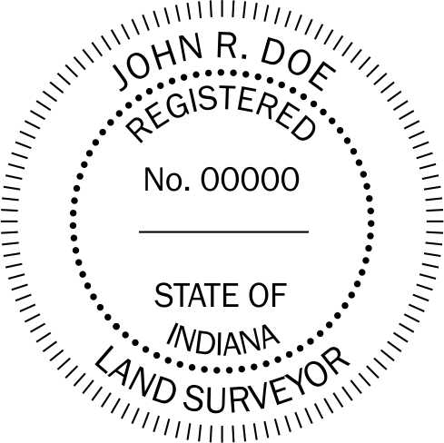 Indiana Land Surveyor - Prostamps