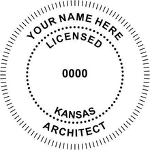 Kansas Architect - Prostamps