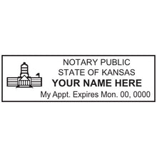Kansas Notary Stamp and Seal - Prostamps
