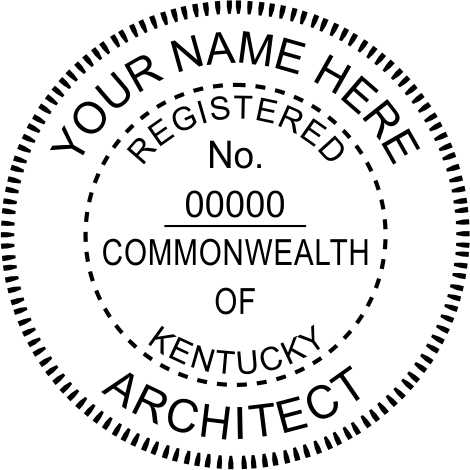 Kentucky Architect - Prostamps
