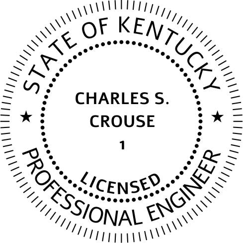Kentucky Engineer Stamp and Seal - Prostamps