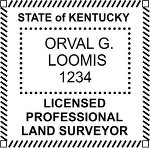 Kentucky Land Surveyor - Prostamps