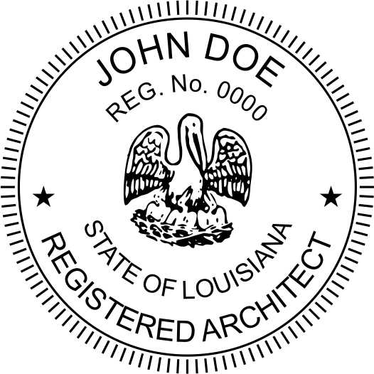 Louisiana Architect - Prostamps