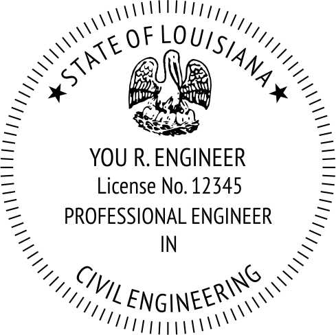 Louisiana Engineer - Prostamps