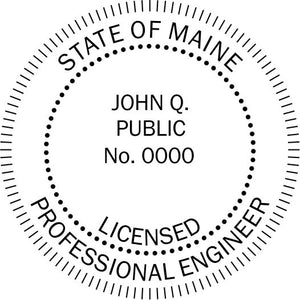 Maine Engineer - Prostamps