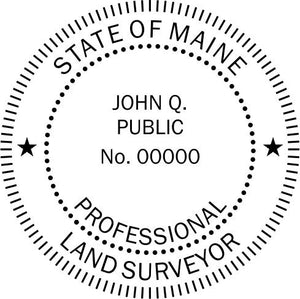 Maine Land Surveyor - Prostamps