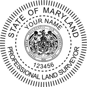 Maryland Land Surveyor - Prostamps