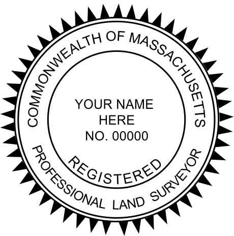 Massachusetts Land Surveyor - Prostamps