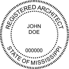 Mississippi Architect - Prostamps
