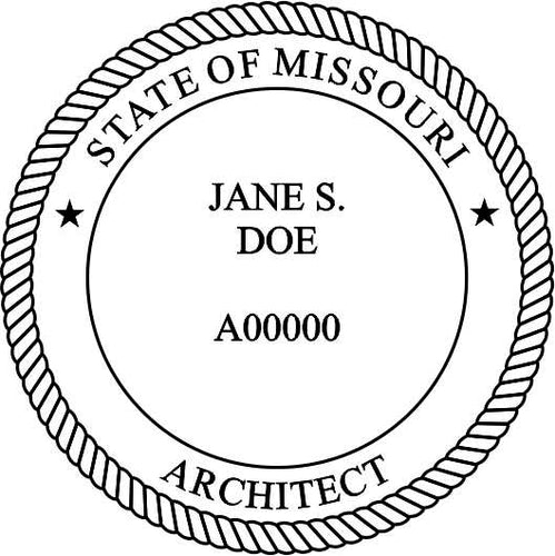 Missouri Architect - Prostamps