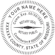 Missouri Notary Stamp and Seal - Prostamps