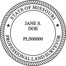 Missouri Land Surveyor - Prostamps