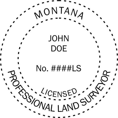 Montana Land Surveyor - Prostamps