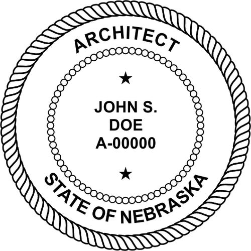 Nebraska Architect - Prostamps
