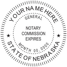 Nebraska Notary Stamp and Seal