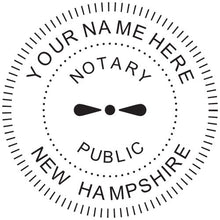 New Hampshire Notary Stamp and Seal