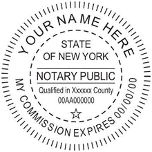 New York Notary Stamp and Seal