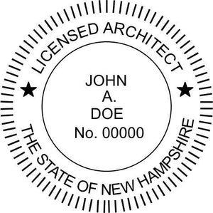 New Hampshire Architect - Prostamps