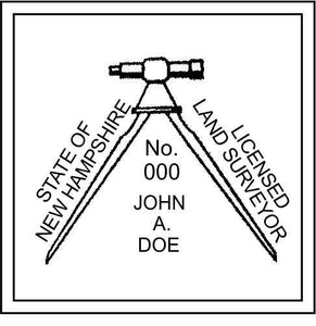 New Hampshire Land Surveyor - Prostamps
