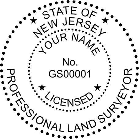 New Jersey Land Surveyor - Prostamps