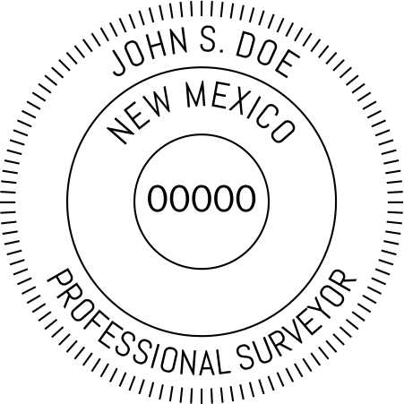 New Mexico Land Surveyor - Prostamps
