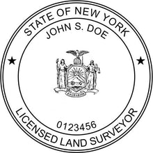 New York Land Surveyor Stamp and Seal - Prostamps
