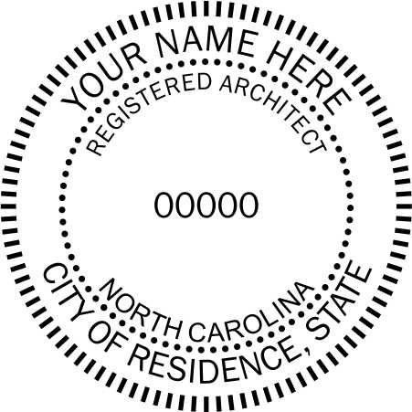 North Carolina Architect - Prostamps
