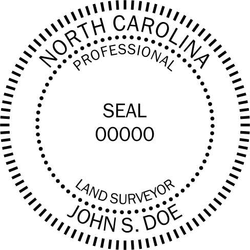 North Carolina Land Surveyor - Prostamps