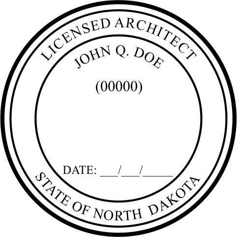 North Dakota Architect - Prostamps