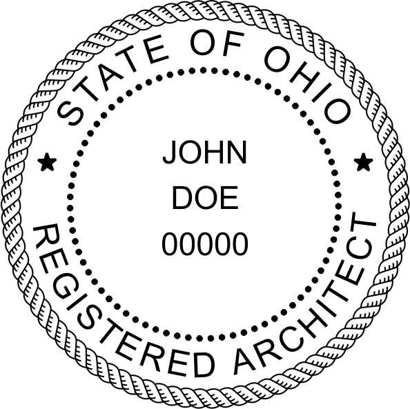 Ohio Architect - Prostamps