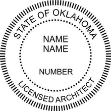 Oklahoma Architect - Prostamps
