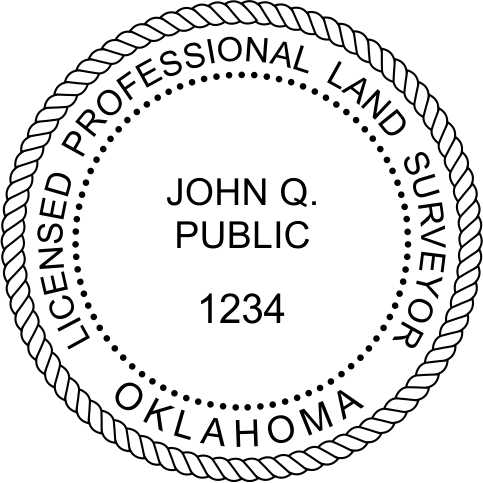 Oklahoma Land Surveyor - Prostamps