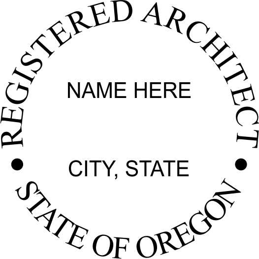 Oregon Architect - Prostamps